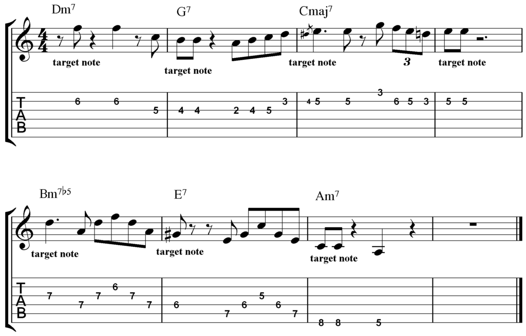 How to Improvise Over Chord Changes